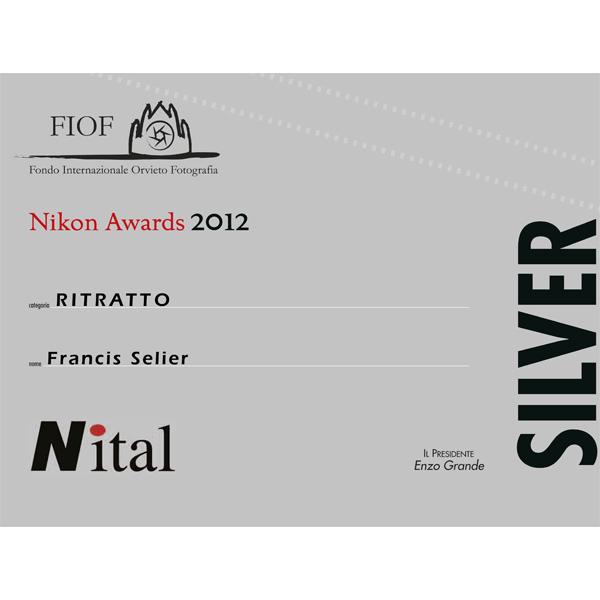Fiof awards Nikon 2012 Argent et Bronze