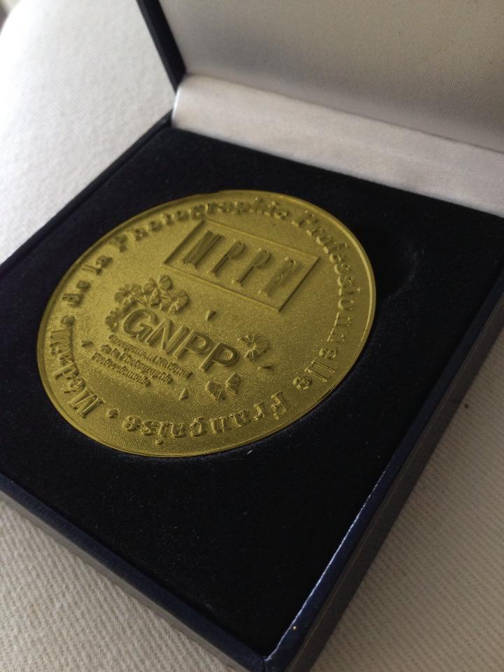 Médaille de Bronze en mariage