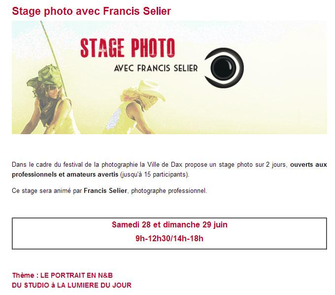 Festival de la Photographie de Dax