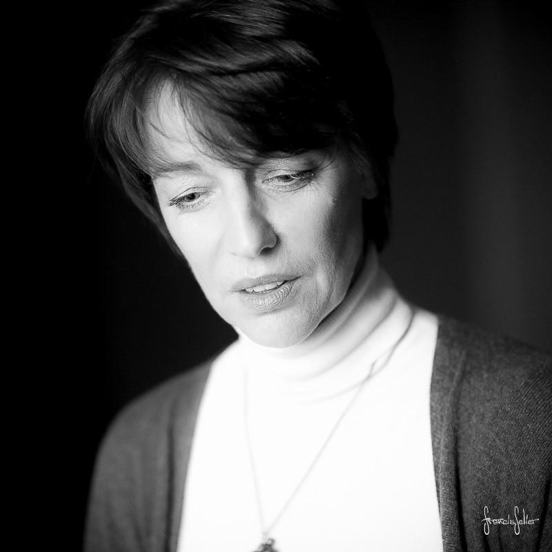 Portrait de femme charente Francis Selier