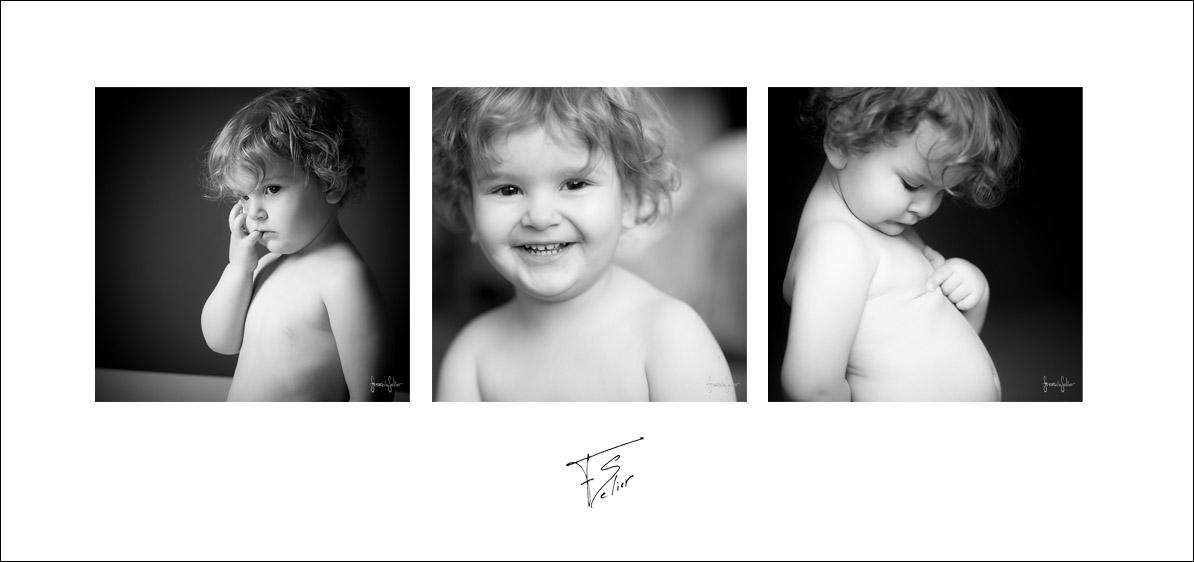 photo noir blanc portrait famille francis selier