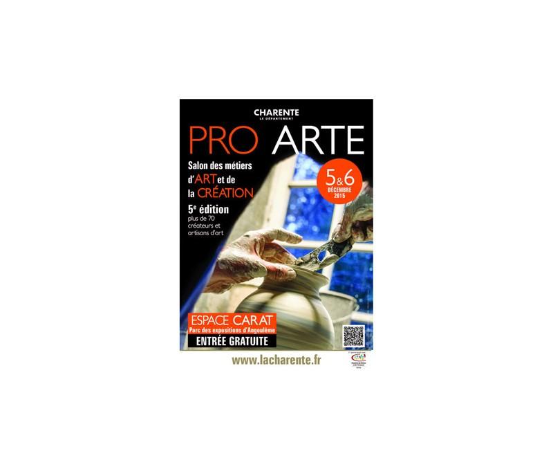 PRO ARTE le salon des métiers d'Art de la Charente