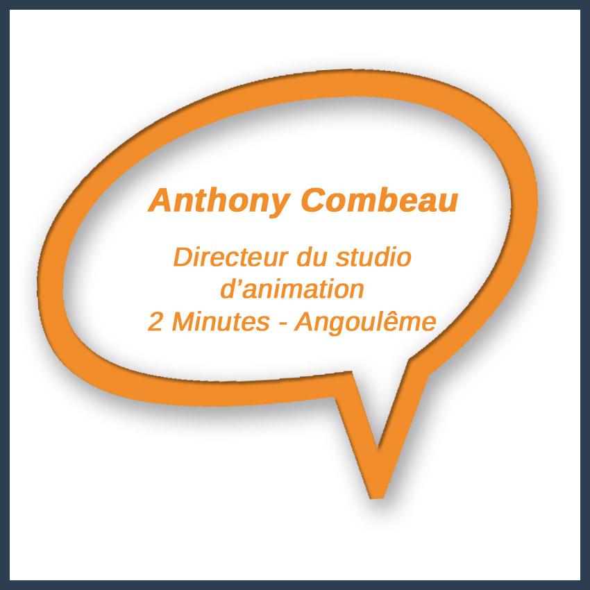 Anthony Combeau Directeur du studio d'animation 2 Minutes Angoulême