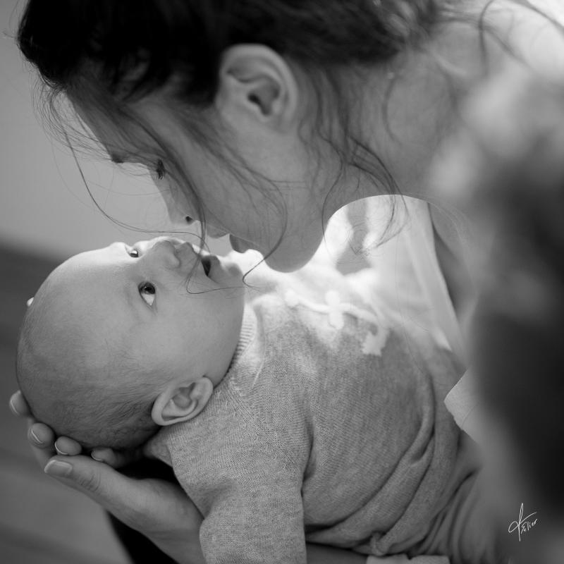 séance photo avec maman